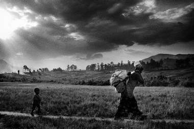 Displaced. Democratic Republic of the Congo.